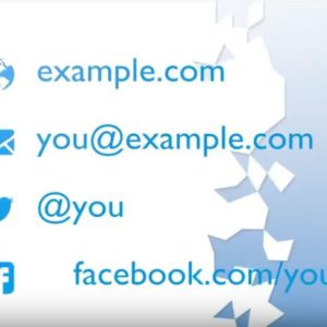 Cube Outro is perfect promote your website, email, Facebook, and Twitter!