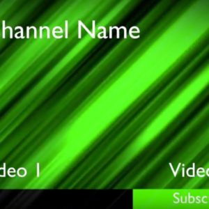 This outro is perfect for your YouTube videos. It offers customizable logo, text areas, and color background.